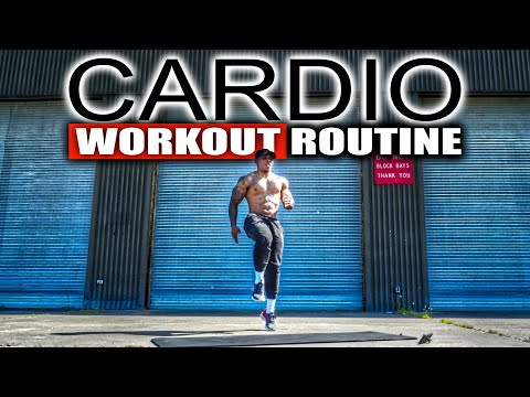 30 MINUTE FAT BURNING CARDIO WORKOUT(NO EQUIPMENT)