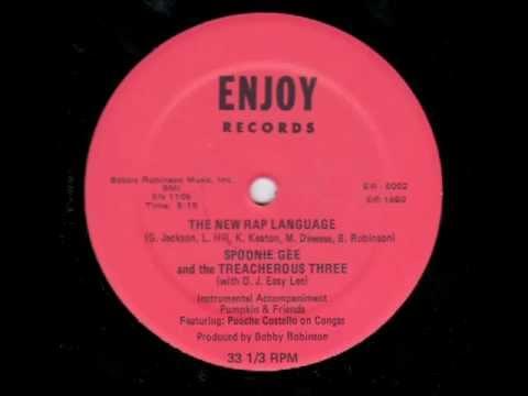 Treacherous Three Fast Rap 1980
