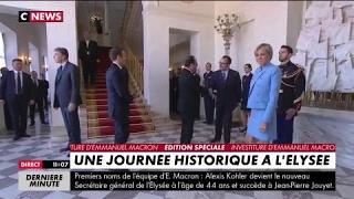 Départ de François Hollande de l'Elysée