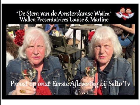 Ouwehoeren proosten op afl 1 De Stem van de Amsterdamse Wallen met paragnost.