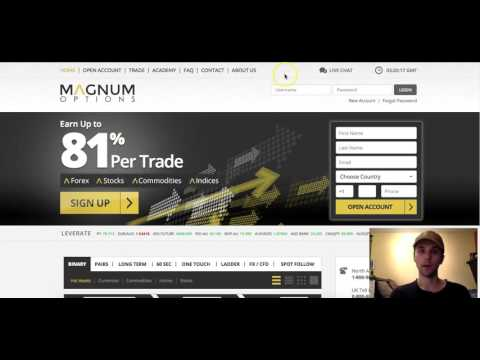 Magnum Options Binary Options Trading Strategy