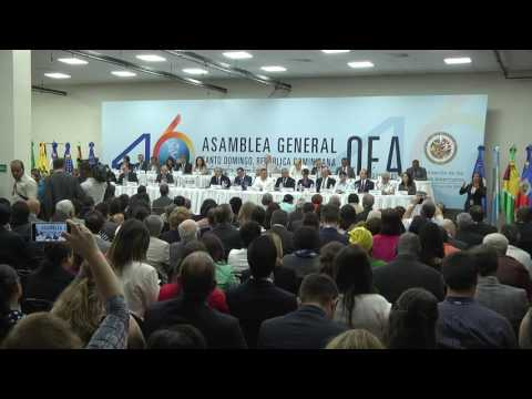 June 13th, 2016  -  Dialog with Civil Society, Labor Unions, Private Sector and Social Actors