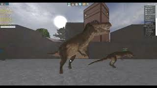 roblox shard seekers - T-rex random.