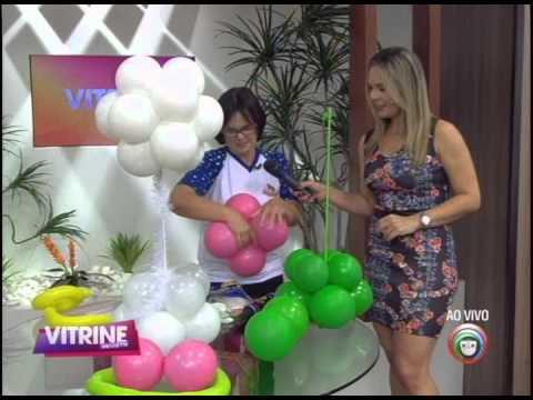 Aprenda a decorar festa infantil com bexigas (11/08)