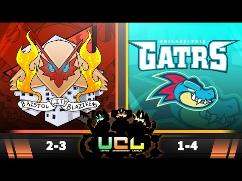 Pokemon ORAS WiFi Battle | Bristol City Blazikens vs Philadelphia Feraligatrs | UCL W6S2