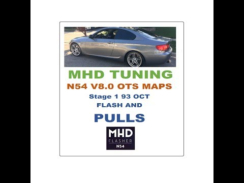 BMW 335is MHD V8 0 OTS Maps Beta Stage 1 93 OCT Flash and