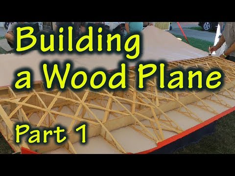 How to build a wooden model aircraft