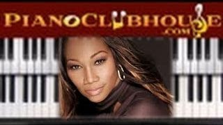 "♫ How to play ""NEVER GIVE UP"" by Yolanda Adams - free piano tutorial ♫"