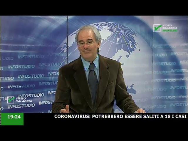 InfoStudio il telegiornale della Calabria notizie e approfondimenti -11 Marzo 2020 ore 19.15