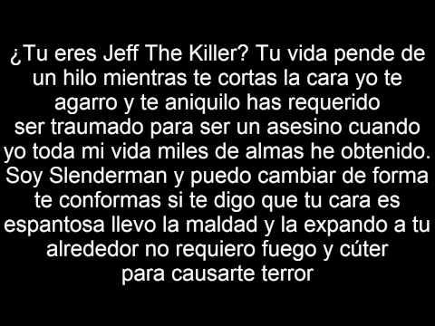 Slenderman VS. Jeff The Killer - Deigamer - Letra