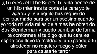 Slenderman VS. Jeff the Killer - Deigamer - Letra