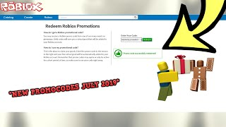 *NEW* PROMO CODES JULY 2019 *CURRENTLY WORKING* (ROBLOX PROMOCODES)