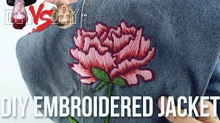 DIY Embroidered Jacket x Annika Victoria Collab Challenge!