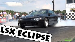 9-Second Nitrous LSX Eclipse - THE SUPER SWAP - Holley LS Fest