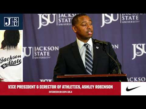 Ashley Robinson Radio Interview On ESPN 105.9