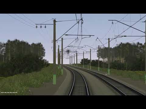Trainz12   Голутвин - Рязань-2 на ЭР2-1338