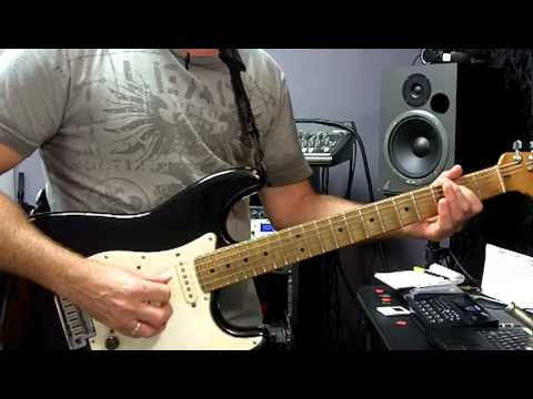 BM 101 - 12 Bar Blues in A - using open chord forms A5, D5 and E5 ...