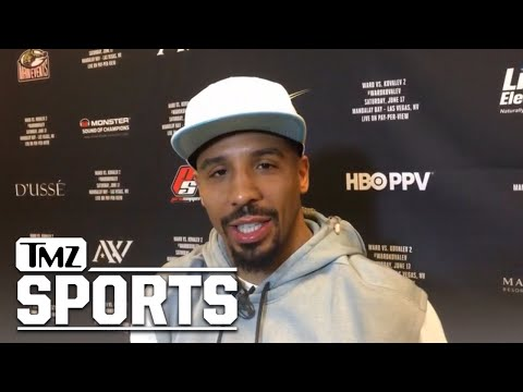 Kevin Durant's My Secret Weapon In Kovalev Rematch, Says Andre Ward | TMZ Sports