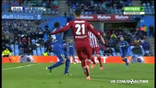 Хетафе   Атлетико 0 1  Обзор матча  Испания  Ла Лига 201516  24 тур