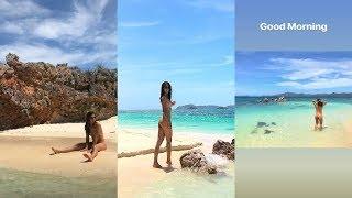 Aubrey Miles NAGHUBAD sa Coron, Palawan!