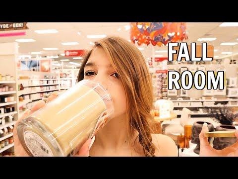 Fall room shopping, transformation + ROOM TOUR