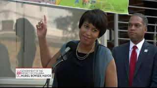 Mayor Bowser Cuts Ribbon on Short-Term Family Housing Program for Ward 4: The Kennedy, 9/26/18