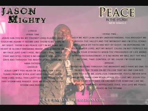 PEACE IN THE STORM - JASON MIGHTY (NEW SINGLE)