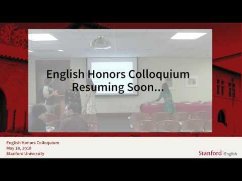 English Department Live Stream