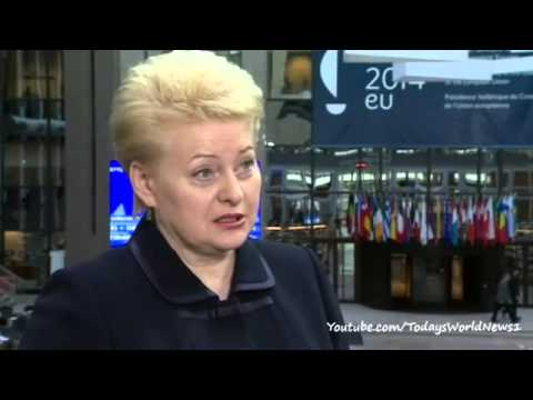 Lithuania's Dalia Grybauskaite warns of prelude to 'new Cold War'
