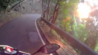 香港遊車河-飛鵝山 落山 電單車 摩托車 重機 機車 日落  MT09