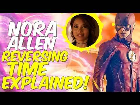 How Nora Allen REVERSED Time EXPLAINED! The Flash Season 4 Lets Talk!