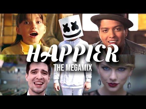 HAPPIER (The Megamix) | Ft. Ariana Grande, BTS, Selena Gomez, Rita Ora, Charlie Puth & More!!!