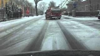 Arschlochverhalten - 006 Germany - Bad Driver - Germany - Schnee Chaos in Freising