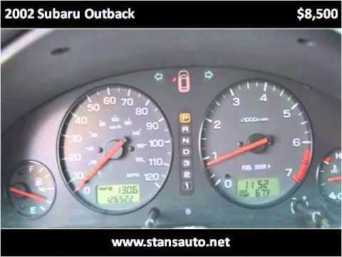 2002 Subaru Outback Used Cars York PA