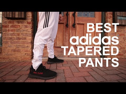 """The Best """"Tapered Adidas Pants"""