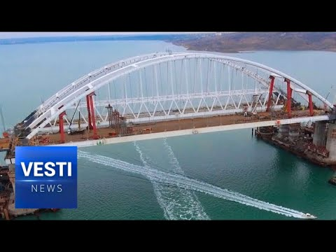 Crimean Bridge Reaches 93% Milestone - Opening Ceremony Drawing Nearer and Nearer