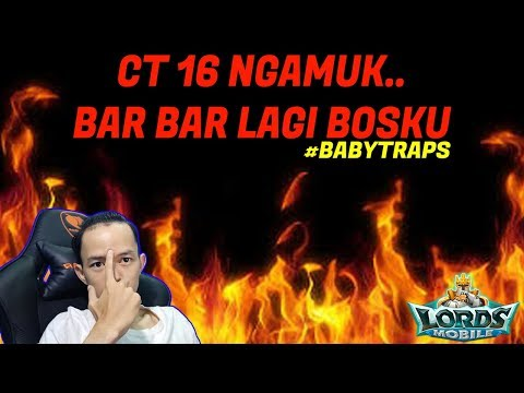 CT16 VS GEAR MYTHIC | LORDS MOBILE INDONESIA | PART 1