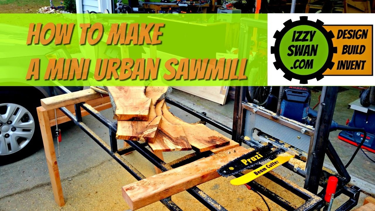 How to make a urban sawmill with a circular saw youtube how to make a urban sawmill with a circular saw youtube greentooth Image collections