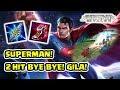Nyobain Superman di Match! Benar2 SUPER damagenya 2 Hit Bye2! - Arena of Valor AOV