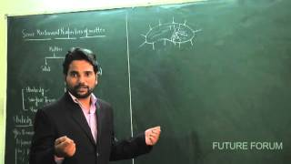 Mechanical Properties of Matter -Lecture 1 (Elasticity)