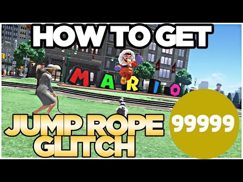 *NEW GLITCH* How to Get 99999 Jump-Rope in Metro Kingdom Super Mario Odyssey | Austin John Plays