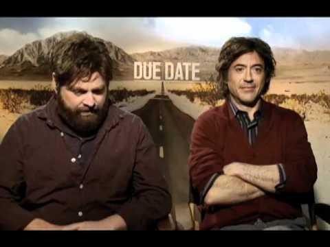 Zach Galifianakis & Robert Downey Jr. interview  - Due Date