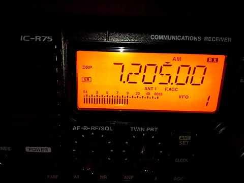 Radio Omdurman Sudan 24 /9 /17 @19:53 UTC on 7205 kHz