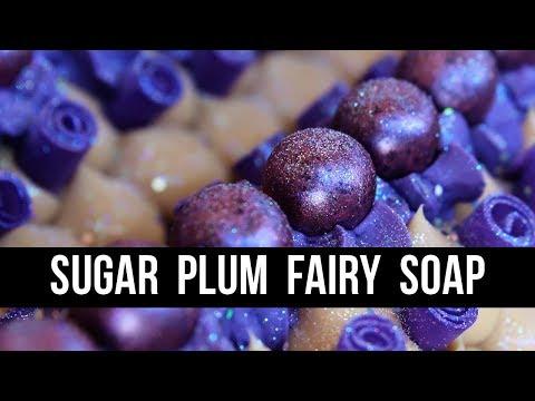 Sugar Plum Fairy Soap | Royalty Soaps