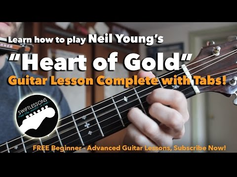 Neil Young - Heart of Gold - Easy Acoustic Guitar Songs for Beginners