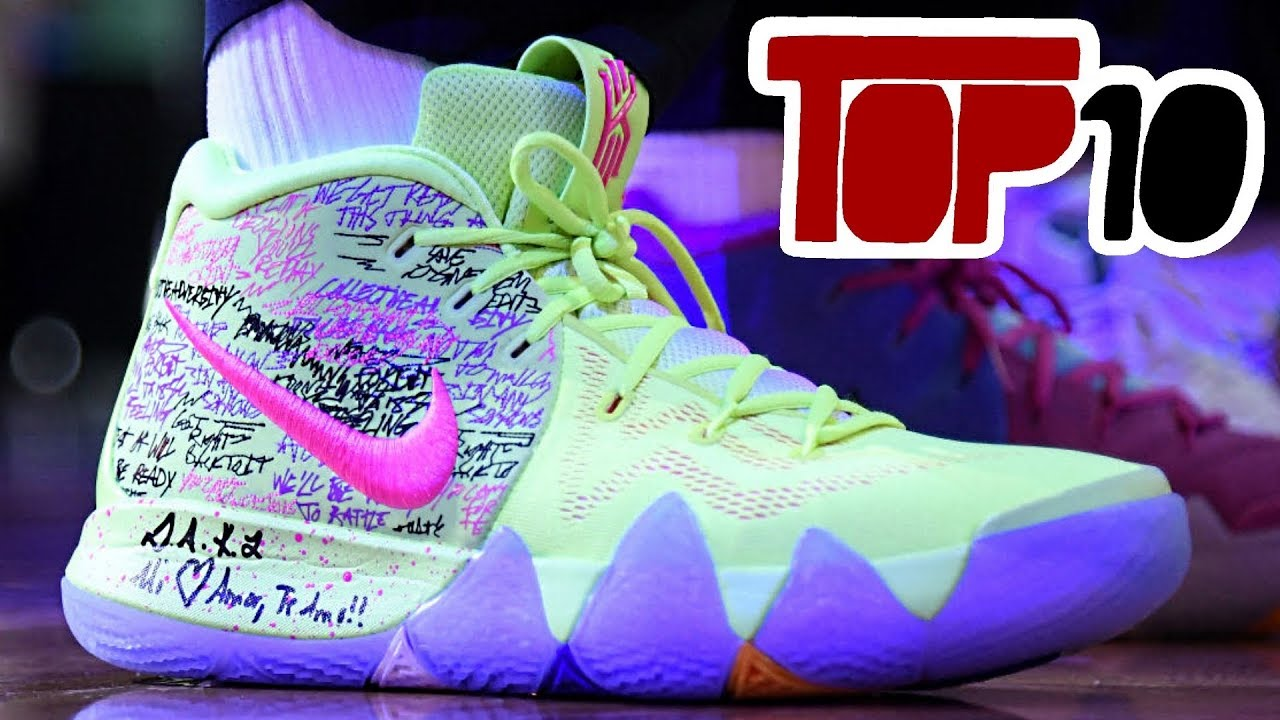 d3b172cad53 Top 10 Nike Kyrie 4 Shoes Of 2018 - YouTube