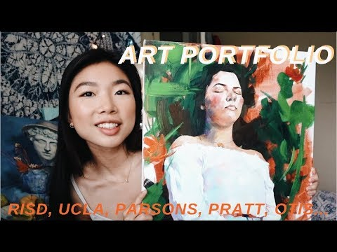 Accepted Art Portfolio // RISD, UCLA, PARSONS, AND MORE