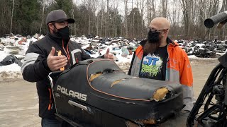 JT's Snowmobile Repair Visit