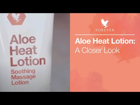 Learn more about Forever Aloe Heat Lotion | Forever Living UK & Ireland