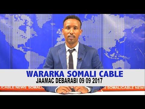 WARARKA SOMALICABLE IYO JAAMAC DEBARANI 09 09 2017